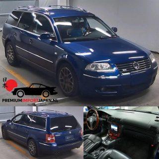 2002 VW Passat SW W8 4motion 270pk KM: 97.381 Veiling in Japan: 09-06-2021  Meebieden? Vraag ons naar de voorwaarden.  #vwpassat #vwpassatwagon #vwpassatwagonw8 #vww8 #vww8passat #vww8wagon #passatclub #vwclassic #vwlegends #youngtimer #btwauto #autoweek #topgear #faststation #familycar #carsofinstagram #premiumimportjapan #autoimport #autoimporterenuitjapan #zelfautoimporterenuitjapan #autoimports #vwwagonporn #vwforlife #carauction #carauctionjapan