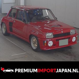 Renault 5 TURBO 2  Mint condition KM: 85.000 Auction in Japan Opening bid starts at € 32.300,-  15-7 early morning CET.  #renaultr5turbo #renault5turbo2 #turbo2 #renault5alpine #renault5alpineturbo #renault5 #renault5gtturbo #renaultsport #hothatch #hothatches #hothatchback #zelfautoimporterenuitjapan #zelfautoimporteren #autouitjapanimporteren #premiumimportjapan #carlegend #legendaryrides #instacars #renault5club #renaultnederland