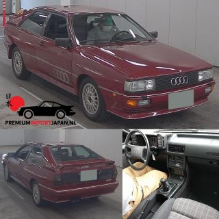 1985 Audi Quattro Coupe Engine: 2144cc 5cilinder Turbo 200ps KM 19.514😱 Grade 4.5(as new)  Japanese auction 27-5 early morning CET.  Opening bid as from €. 60.000,-  #audiquattro #audiquattros1 #audiquattrosport #audiquattrorally #audiquatro #audisportquattro #audisport #audisportclub #audiquattros1e2 #audiquattroskicup #audiquattrocup #audiquattroworld #audiquattrocoupe #quattro #quattropower #quattroculture #premiumimportjapan #zelfautoimporterenuitjapan #autoimporterenuitjapan #autoimport #autoimports #carsofinstagram #instacars #supercars #audirs6 #audirally #legendarycars #legend #groupeb #audisportquattro
