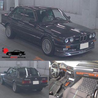 1986 BMW Alpina B6 2.7 210HP. 1/67 ooit gebouwd, en allen gebouwd voor de Japanse markt. KM: 95.363 Zeer zeldzaam, en word morgen ochtend in Japan geveild.  #bmwclassic #alpina #alpinab6 #alpinawheels #bmwalpinab6 #e30 #bmwe30 #bmwe30alpina #bmwe30m3 #e30alpina #bmwe30lovers #premiumimportjapan #zelfautoimporterenuitjapan #autoimporterenuitjapan #barnfind #alpinaclassic #bmwalpina #bmwlife #bmwe30club #bmwnederland #bmwcollection #alpinacollection #streetlegal #80scars #carfromjapan
